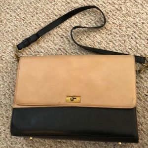 Jcrew color block leather bag